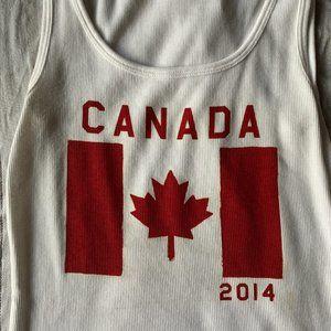 Patriotic Tank Top -Canada 2014
